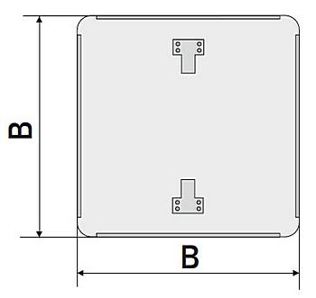 Схема квадратной подосновы