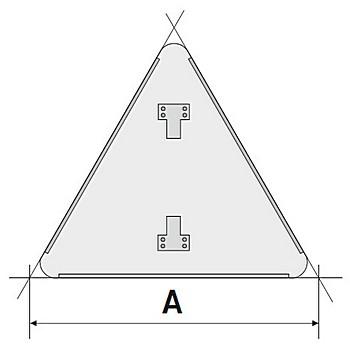 Схема треугольной подосновы